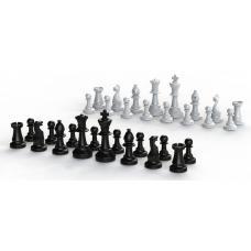 Набор фигур с утяжелителями для шахматного поля 40 х 40 см