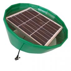 Соларбокс газонный с солнечной панелью 6В, 6 дм2