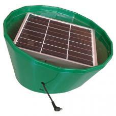 Соларбокс газонный с солнечной панелью усиленный 6В, 6 дм2