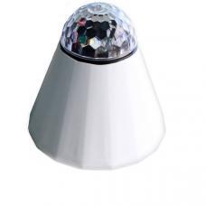 Диско-фонарь аккумуляторный для шара-скалодрома 20 Вт 12 В с пультом управления