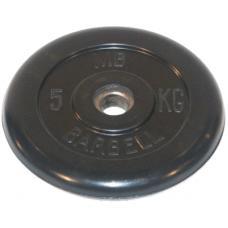 Диск обрезиненный 51 мм 5 кг