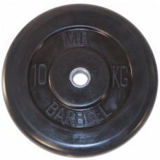 Диск обрезиненный 51 мм 10 кг