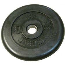 Диск обрезиненный 51 мм 20 кг