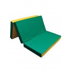 Мат №6 (150 х 100 х 10) складной (зеленый/желтый)