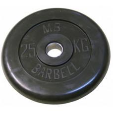 Диск обрезиненный 26 мм 25 кг