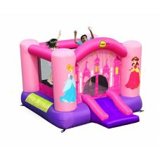 Надувной батут Happy Hop Princess Slide and Hoop Bouncer 9201P