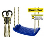 Пластиковые навесные качели Kampfer (Синий)