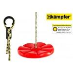 Пластиковые качели-диск Лиана Kampfer (Красный)