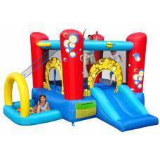 Надувной батут Happy Hop Bubble 4 in 1 Play Center 9214