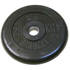 Диск обрезиненный 51 мм 25 кг