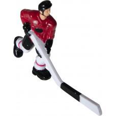Хоккеист №29, длинная клюшка «Red Machine» (красный)