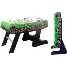 Настольный футбол (кикер) «Barcelona» (138x72x86 см, цветной) складной)