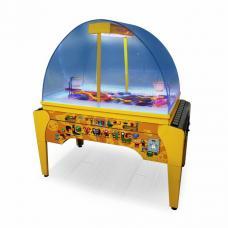 Интерактивный автомат баскетбол «Bacterball» 145 x 80 x 160 cm, (жетоноприемник)