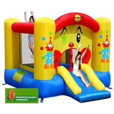 Надувной батут Happy Hop Clown Slide and Hoop Bouncer 9201