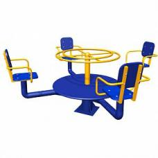 Карусель с рулем и сидениями Romana 108.25.00 (ИО-1.2.03.01)