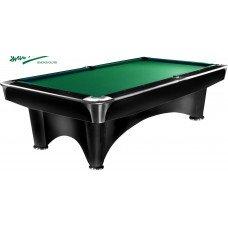 Бильярдный стол для пула «Dynamic III» 8 ф (черный с отливом)