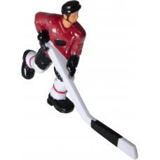 Хоккеист №28, короткая клюшка «Red Machine» (красный)
