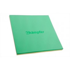 Гимнастический мат Татами KAMPFER (зеленый/желтый)