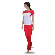 Комплект женской одежды для фитнеса Kampfer  Flame red (XL)