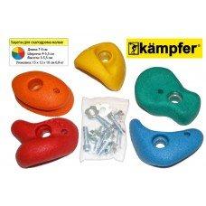 Малые зацепы Kampfer для детского скалодрома  купить у нас , оформив заказ через корзину на сайте интернет-магазина, быстрая доставка по России.  (набор по 5 шт)