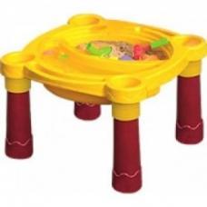 Детская пластиковая песочница-стол