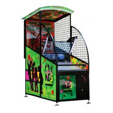 Интерактивный автомат баскетбол «Kids Basketball» 210 x 160 x 80 cm, (жетоноприемник)