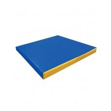 Мат №3 (100 х 100 х 10) (синий/желтый)