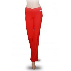 Брюки женские для фитнеса Kampfer Flame red (XL)