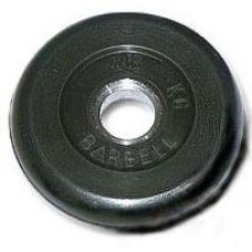 Диск обрезиненный МВ Barbell 2,5 кг (MB-51)