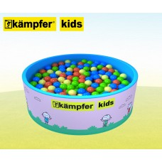 Сухой бассейн Kampfer Kids (розовый + 300 шаров)